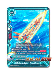Radiant Saber, Providence [H-BT04/0020EN RR (FOIL)] English