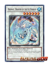 Brionac, Dragon of the Ice Barrier - Super - H5SE-EN001 on Ideal808