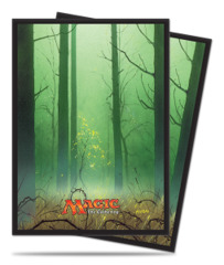 Magic the Gathering MANA 5 Ultra Pro Sleeve 80ct. - Forest (#86458)