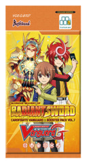 CFV-G-BT07 Glorious Bravery of Radiant Sword (English) Cardfight Vanguard G-Booster Pack