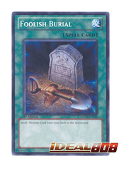 Foolish Burial - SDDL-EN029 - Common - 1st Edition