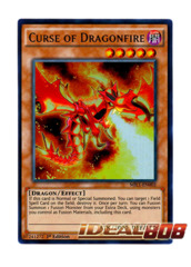 Curse of Dragonfire - MIL1-EN002 - Ultra Rare - 1st Edition