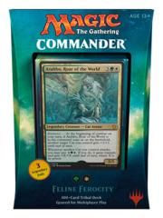 Commander 2017: Feline Ferocity (Green / White)