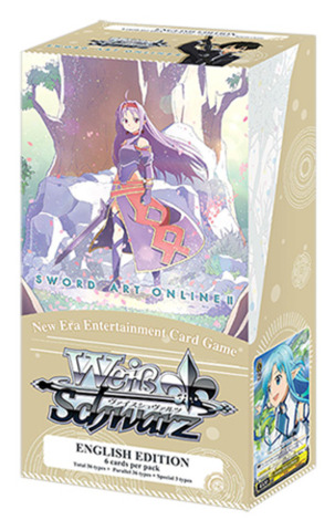 Sword Art Online II Vol.2 (English) Weiss Schwarz Extra Booster Box