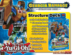 Yugioh Geargia Rampage Structure Deck (1st Edition)