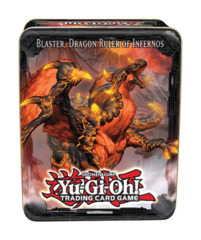 Yugioh 2013 CT10 Wave 1 Collector's Tin - Blaster, Dragon Ruler of Infernos