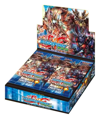 BFE-H-BT04 Mikado Evolution (English) Future Card Buddyfight Booster Box