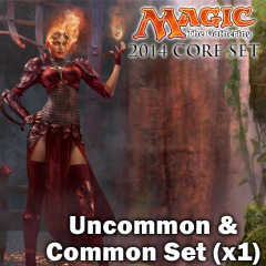 Magic 2014 (M14) Core Set Complete Set of Commons/Uncommons x 1