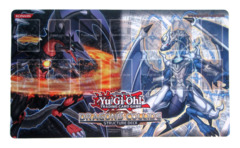 Dragons Collide Structure Deck Playmat (Lightpulsar Darkflare Dragon)