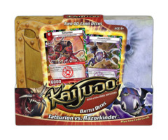 Kaijudo: Rise of the Duel Masters: Battle Decks: Tasurion vs. Razorkinder on Ideal808