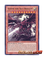 Slifer the Sky Dragon - JUMP-EN061 - Ultra Rare - Limited Edition on Ideal808