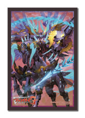 Bushiroad Cardfight!! Vanguard Sleeve Collection (60ct)Vol.173 Supremacy Black Dragon, Aurageyser Doomed