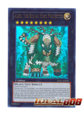 Alsei, the Sylvan High Protector - LVAL-EN052 - Ultra Rare - 1st Edition