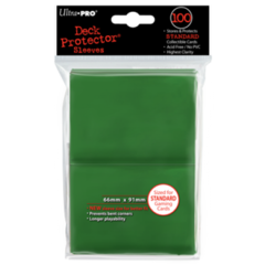 Ultra Pro Large Sleeves 100ct. - Green on Ideal808