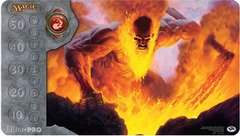 MTG Magic Inferno Titan Ultra Pro Playmat on Ideal808