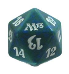 MTG Spindown 20 Life Counter - M13 Magic 2013 (Green)