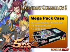 Legendary Collection 5: 5D's Mega Pack Case (12 Boxes) on Ideal808