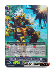 Dimensional Robo, Daishield - BT13/014EN - RR