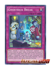 Ghostrick Break - WSUP-EN043 - Super Rare - 1st Edition