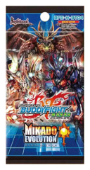 BFE-H-BT04 Mikado Evolution (English) Future Card Buddyfight Booster Pack