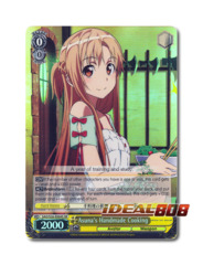 Asuna's Handmade Cooking [SAO/S26-E004S SR (FOIL)] English