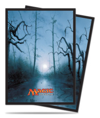 Magic the Gathering MANA 5 Ultra Pro Sleeve 80ct. - Swamp (#86456)