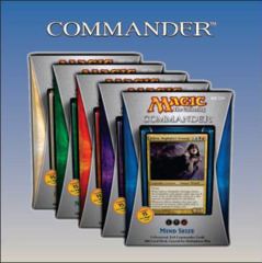 MTG Commander 2013 Multiplayer EDH Pre-Constructed Deck [All 5 Decks] on Ideal808
