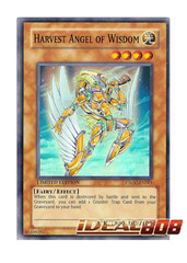 Harvest Angel of Wisdom - CSOC-ENSE1 - Super Rare - Limited Edition on Ideal808
