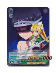 Virtual World Girl, Leafa [SAO/S26-E025S SR (FOIL)] English