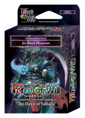 SDS1 ST05 Jet Black Phantom (English) Force of Will Darkness Starter Deck