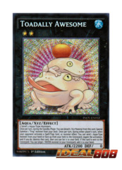 Toadally Awesome - INOV-EN052 - Secret Rare - 1st Edition