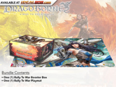 DB-BT01 Rally to War (English) Dragoborne -Rise to Supremacy- Booster Box + Playmat