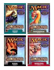 Apocalypse Precon Theme Deck Set (All 4)