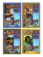Planeshift Precon Theme Deck Set (All 4)