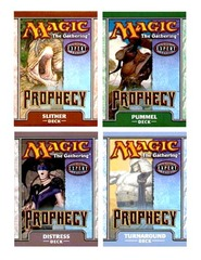 Prophecy Precon Theme Deck Set (All 4) on Ideal808