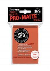 Ultra Pro Matte Non-Glare Small Sleeves 60ct - Peach (#84154)
