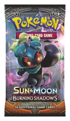 SM Sun & Moon - Burning Shadows (SM03) Pokemon Booster Pack * PRE-ORDER Ships AUG.4