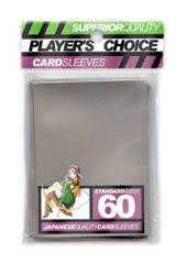 Player's Choice Standard Card Sleeves - Silver