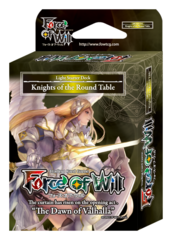SDS1 ST01 Knights of the Round Table (English) Force of Will Light Starter Deck