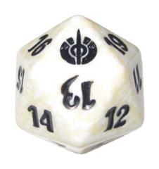 MTG Spindown 20 Life Counter - Mirrodin Besieged (White)