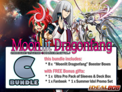 Cardfight Vanguard G-BT05 Bundle (C) - Get x8 Moonlit Dragonfang Booster Box + FREE Bonuses + Bundle Treasure