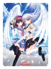 Angel Beats Operation Wars [Yuri Nakamura & Angel] Broccoli Playmat