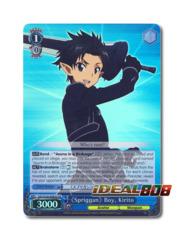 《Spriggan》 Boy, Kirito [SAO/S26-E065S SR (FOIL)] English