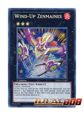 Wind-Up Zenmaines - PHSW-EN087 - Secret Rare - 1st Edition