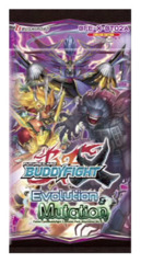 BFE-X-BT02A Evolution & Mutation (English) Future Card Buddyfight X Booster Pack * PRE-ORDER Ships AUG.25
