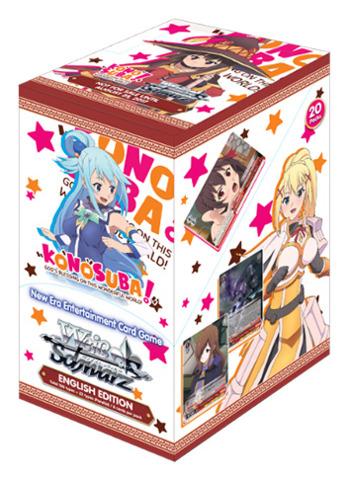 Konosuba (English) Weiss Schwarz Booster Box * PRE-ORDER Ships Aug.25