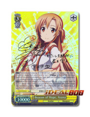 Beacon of Hope, Asuna [SAO/S26-E002SP SP (SIGNED FOIL)] English