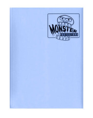Monster Protectors 9 Pocket Binder - Matte - Light Blue on Ideal808