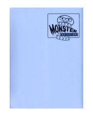 Monster Protectors 9 Pocket Binder - Matte - Light Blue