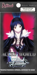 Accel World (English) Weiss Schwarz Booster Pack * PRE-ORDER Ships May.19